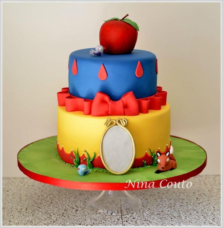 Gâteau anniversaire enfant Nîmes - Blanche neige...
