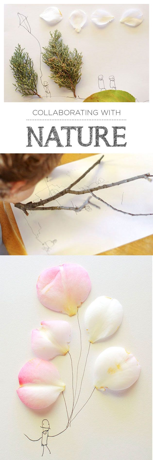 awesome A fun way to bring together an appreciation of nature and our creative spirits&#...
