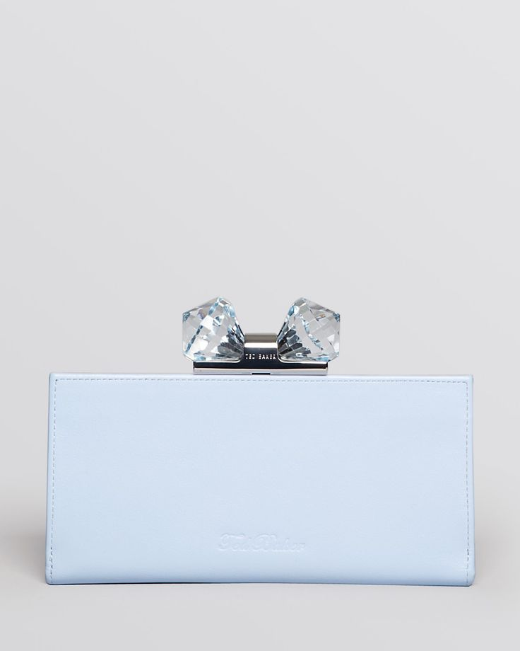 Ted Baker Wallet - Crystal Bow Matinee Continental | Bloomingdale's