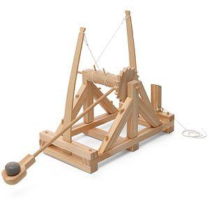 Da Vinci's Wood Catapult Kit