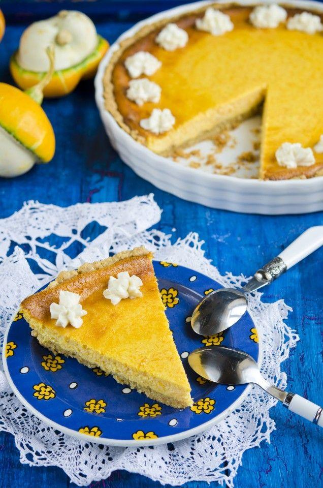 Рецепт - Тыквенный тарт на вкуснейшем ореховом тесте