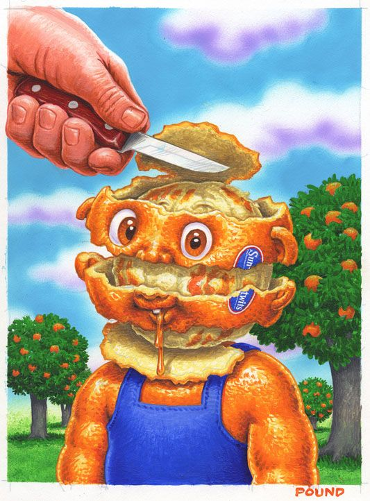 Garbage pail kids see more john pound