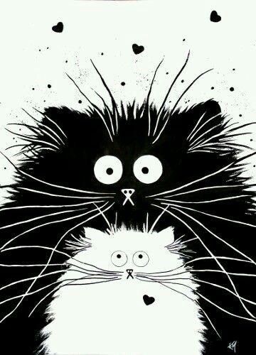 296 mejores imgenes de gato en Pinterest  Dibujos Gatos y Gatitos