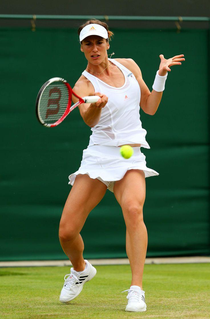 Andrea Petkovic on Day3 of the Wimbledon Lawn Tennis Championships June 26-2013 #WTA #Petkovic #Wimbledon