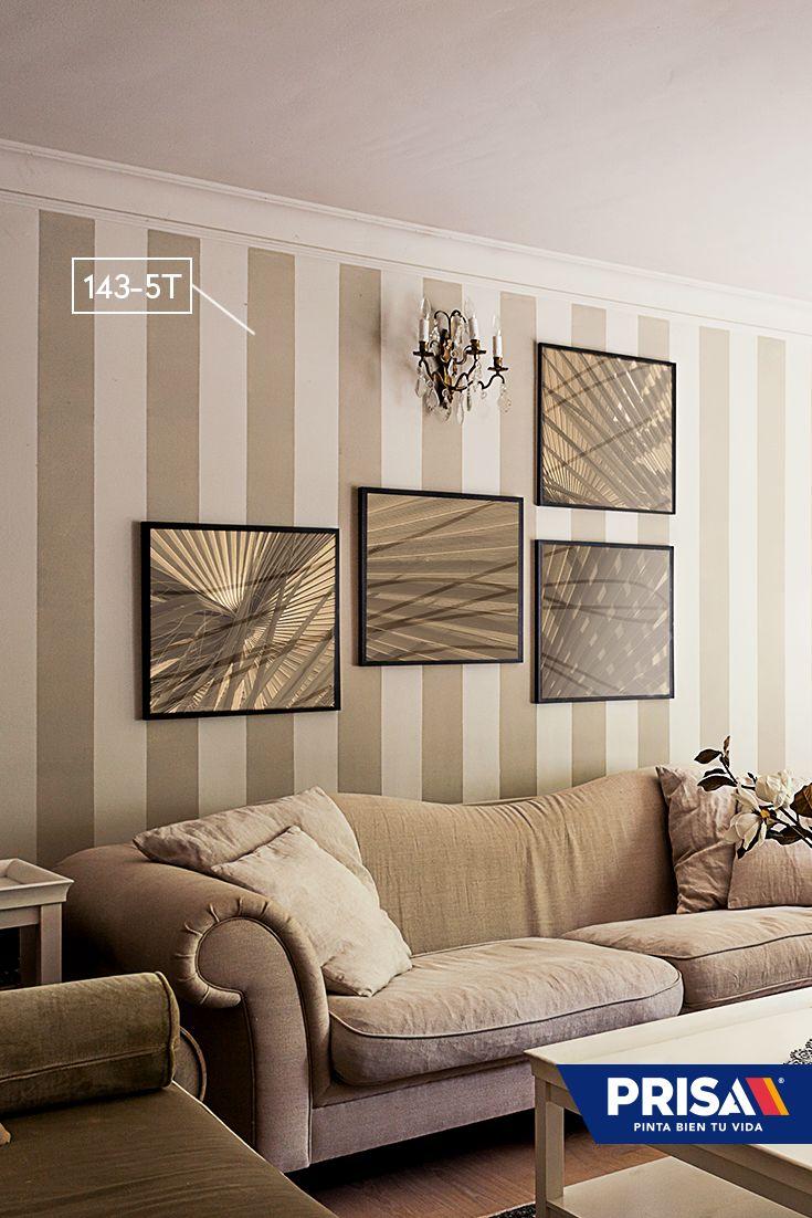 El diseño de rayas horizontales o verticales en paredes toma cada vez más revuelo este año. ¡Aplícalo en tu hogar!