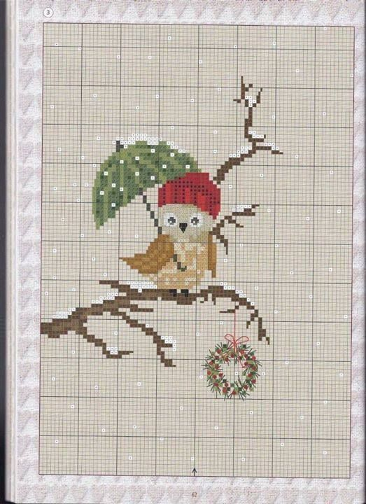Cross stitch owl xx