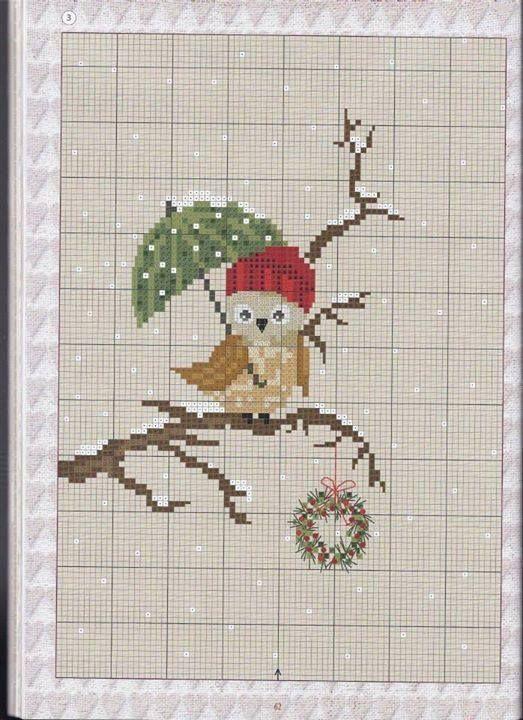 Cross stitch owl xx