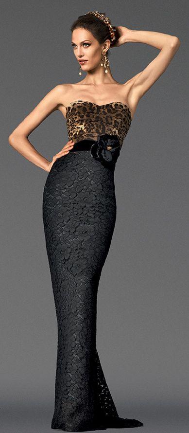 Dolce & Gabbana Fall 2012/13 ~ http://VIPsAccess.com/luxury-hotels-caribbean.html love this