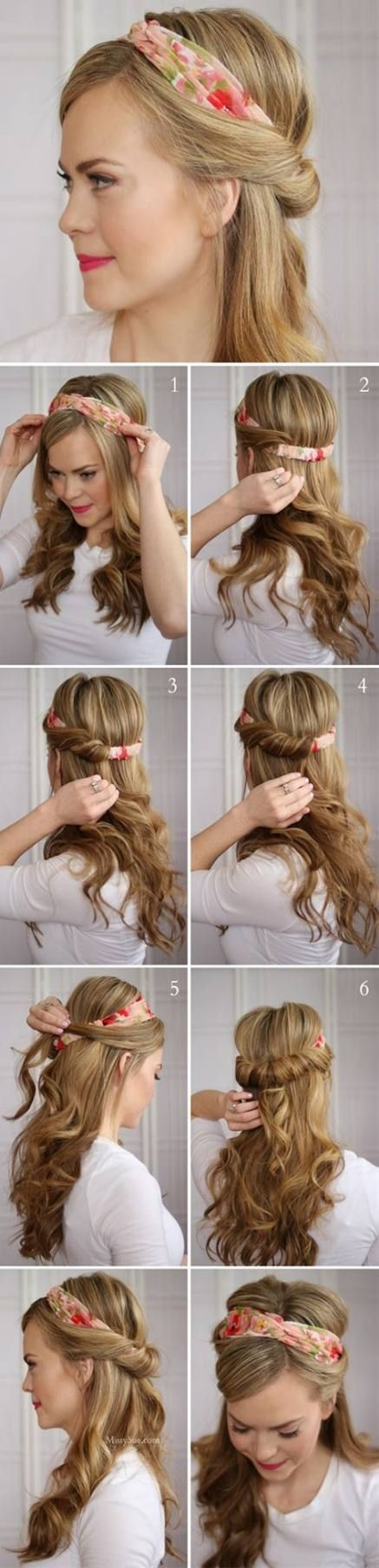How to wear headbands hairstyles messy buns 30+ Super ideas  #buns #Hairstyles #Headbands #Id...