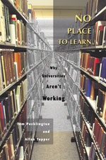 No Place to Learn - Ubcpress.ca :: University of British Columbia Press