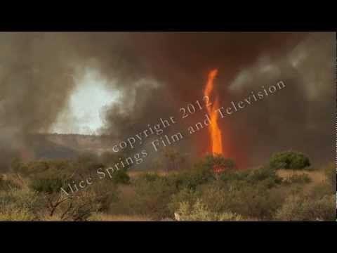 Outback Australia fire tornado  Only In Australia