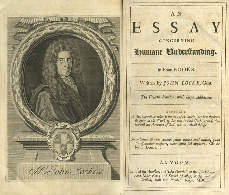 locke book 2 essay John locke was an english philosopher and leader of locke composed an essay concerning human understanding, another ground breaking work of was a british philosopher, economist, and moral and political theorist his works include books and essays covering logic, epistemology.
