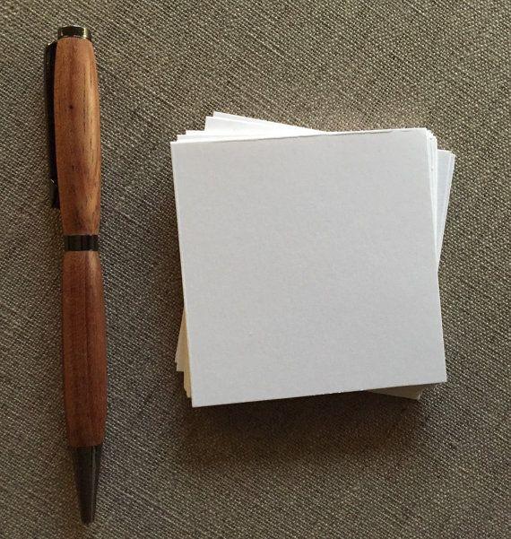"""Cartoncino bianco quadrato piccolo - dimensioni 2,75 """"x 2.75"""" (6,985 x 6,985 cm) per fai da te biglietti da visita, etichette, matrimonio"""