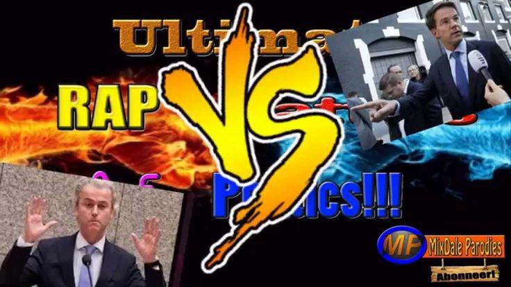 Ultimate Rap Battles of Politics! Geert Wilders [VS] Mark Rutte