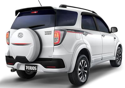Daihatsu Terios with the latest specifications of 2016 - ZARICARS