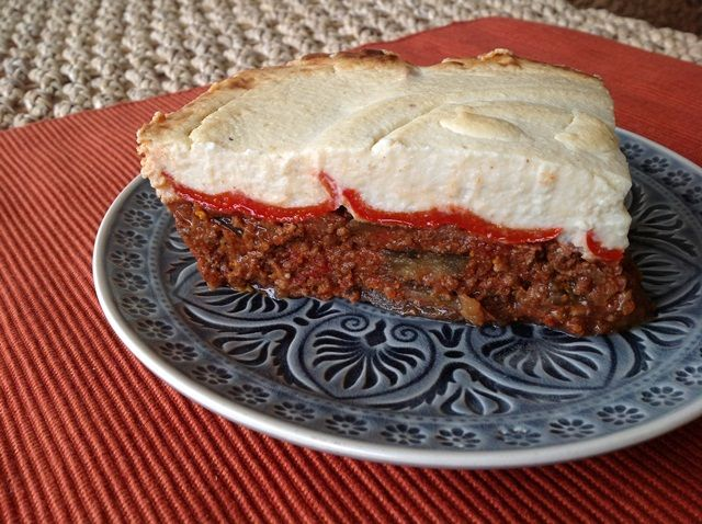 Dukan Moussaka! Healthy protein based version of moussaka, suitable for the Dukan Diet.