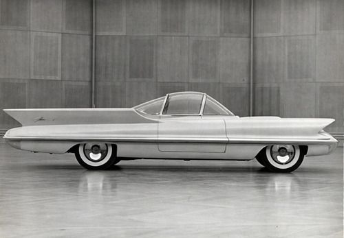 Cars that should have been: Futuristic 60s concept cars