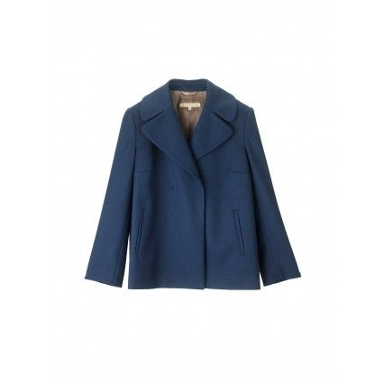 JACKET WITH WIDE LAPELS #lautrechose #fashion #capsule