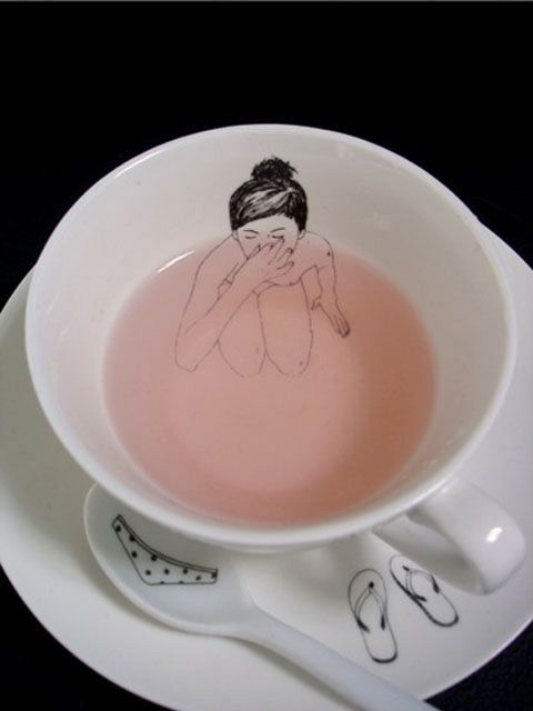 Tea set by Esther Horchner.