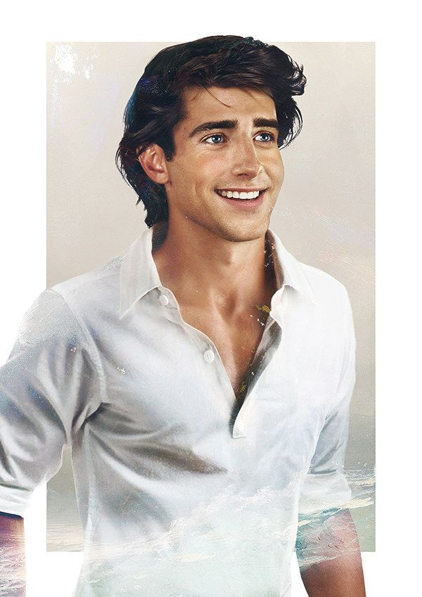 …and with one gaze into his piercing blue eyes, you'll want to be part of his world! | This Is What Disney Princes Would Look Like In Real Life