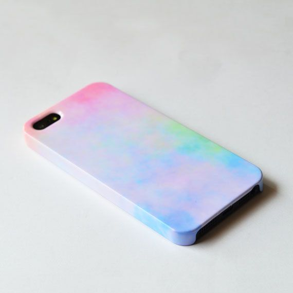 Pastel iphone 5 case , sweet iPhone case , cute iphone 5 case, Hard plastic case , iphone 5 cover. $24.00, via Etsy. Don't even have an iPhone but I want it