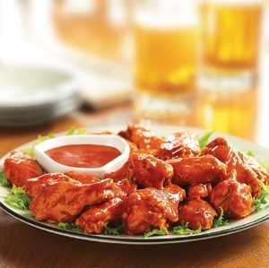 Check out this great recipe from Franks RedHot: FRANK'S RedHot Buffalo Chicken Wings