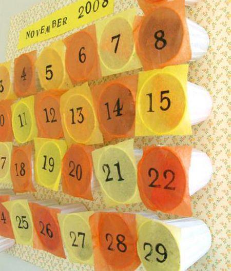 calendario de adviento fácil