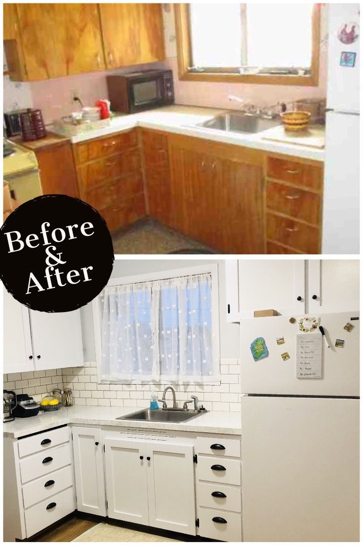 Kitchen Remodel How To Aid Professional Mixer Budget I Remodeled My Small For Less Looking Ideas Well Want Show You Went From Dark And Dreary Bright Cheery Than 400