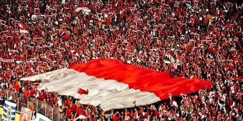 Suporter fanatik indonesia