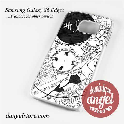 6 sos art collage Phone Case for Samsung Galaxy S3/S4/S5/S6/S6 Edge