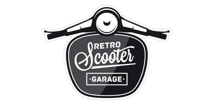 17 best ideas about motorcycle logo on pinterest vintage for Garage scooter nice