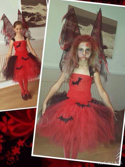 Vampire Tutu Dress. Halloween Tutu Dress. by DiddyDarlings on Etsy