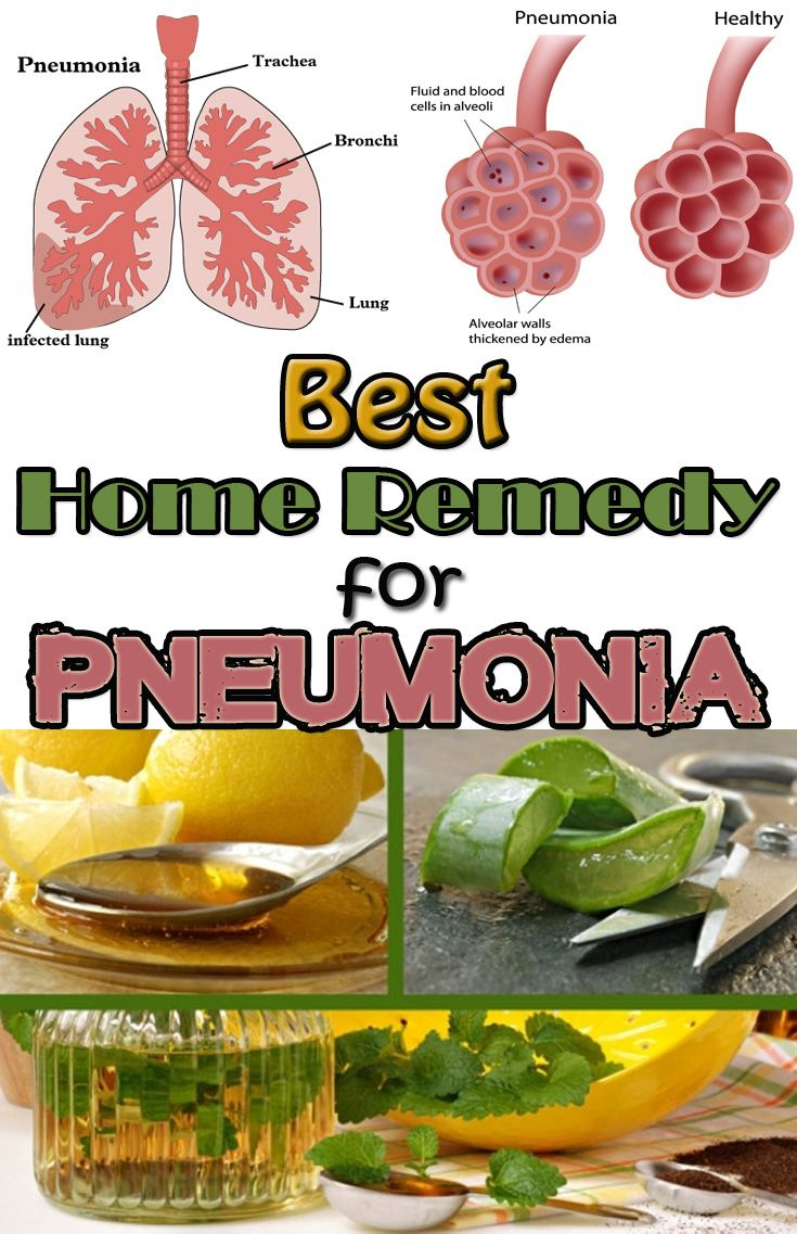 Best home remedy for pneumonia