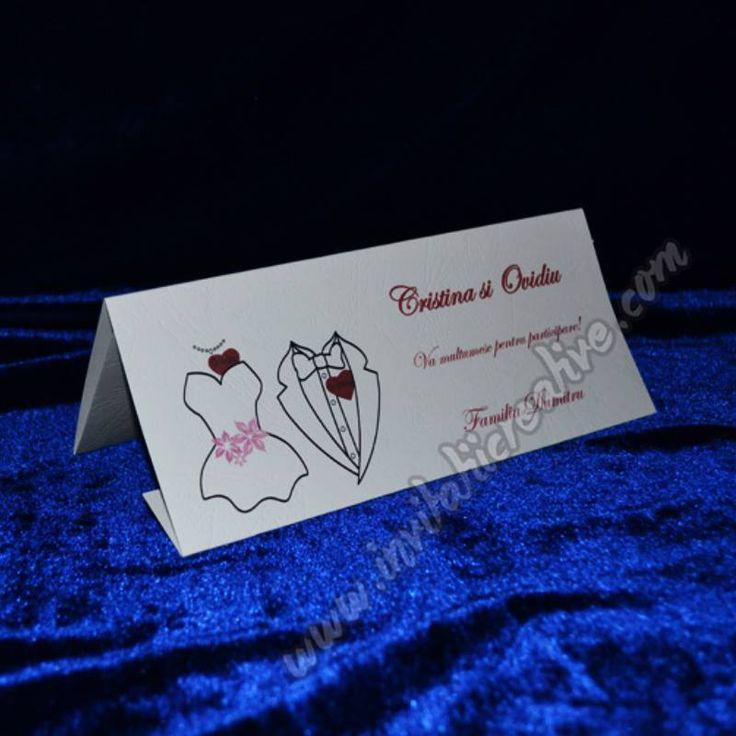 Plic de bani pentru nunta cu mire si mireasa si numele scris pe inima partenerului, numai pentru nunta ta!