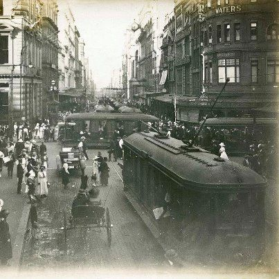 Step back in time. Sydney, Australia in the early 1900's