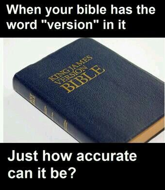 : Bible Version, Belief, Atheist Voice, Words Version, Antith, Itil Wait, Atheist Atheism, The Bible, Bullshit Version