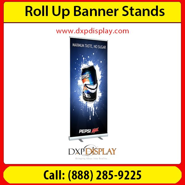 Retractable Banner Stands are extremely popular in trade shows and exhibit displays. Easy transportation, quick setup and a large full-color graphic make it ideal for cutting back trade show without sacrificing quality and appeal. It can also be re-purposed for multiple events or in storefront promotions, adding lasting value to a classic display item. It's available in multiple sizes to fit and compliment any display