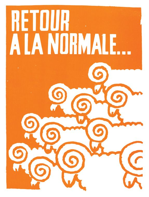 Paris Review – Posters from the Paris Protests, 1968, Atelier Populaire