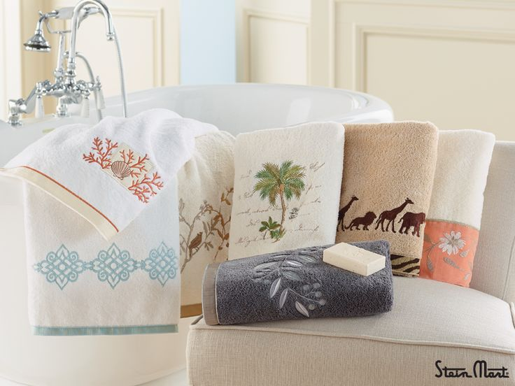 Embellished Bath Towels Add The Prefect Grandeur To Any Powder Room Great Pictures