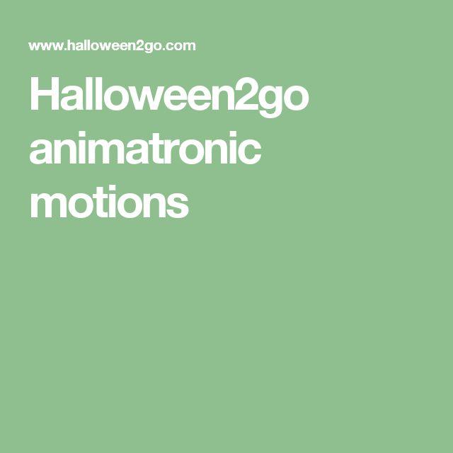 halloween animatronics parts