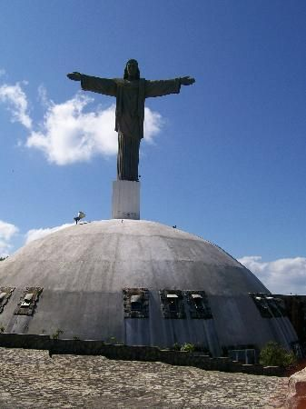 The Dominican Republic's giant statue of Christ the Redeemer, situated on the Isabel de Torres mountain in the north coast city of Puerto Plata, ...