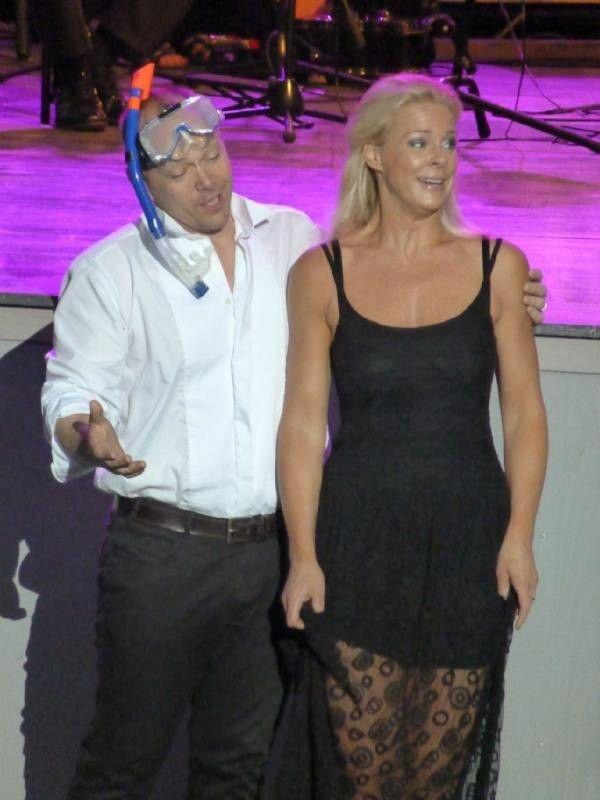 With Malena Ernman,Dalhalla,2012