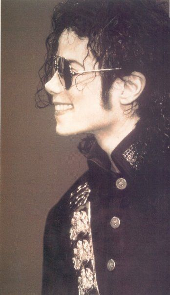 Michael's beautiful face profile!