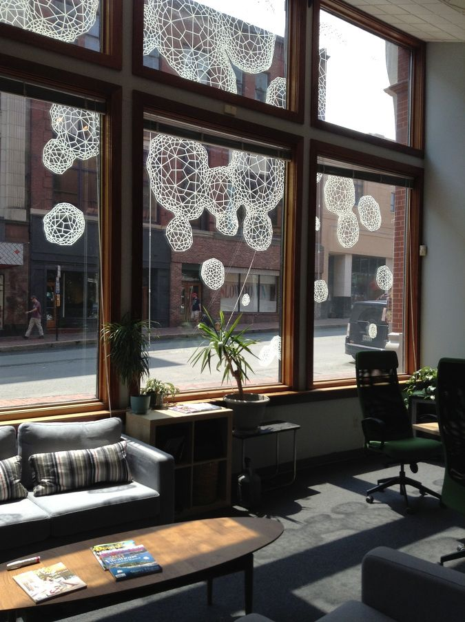 Dissipate: Drawings on Walls and Glass - Clint Fulkerson