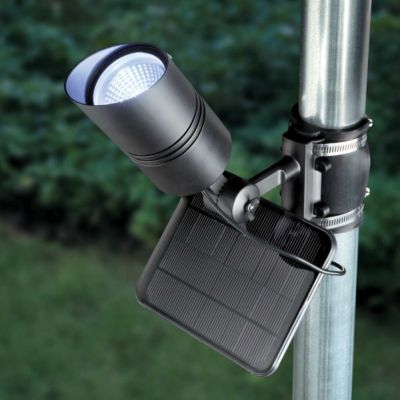 led solar flagpole light. Black Bedroom Furniture Sets. Home Design Ideas
