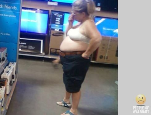 Gross People of Walmart | People of Walmart: The really gross edition | Fellowship ...