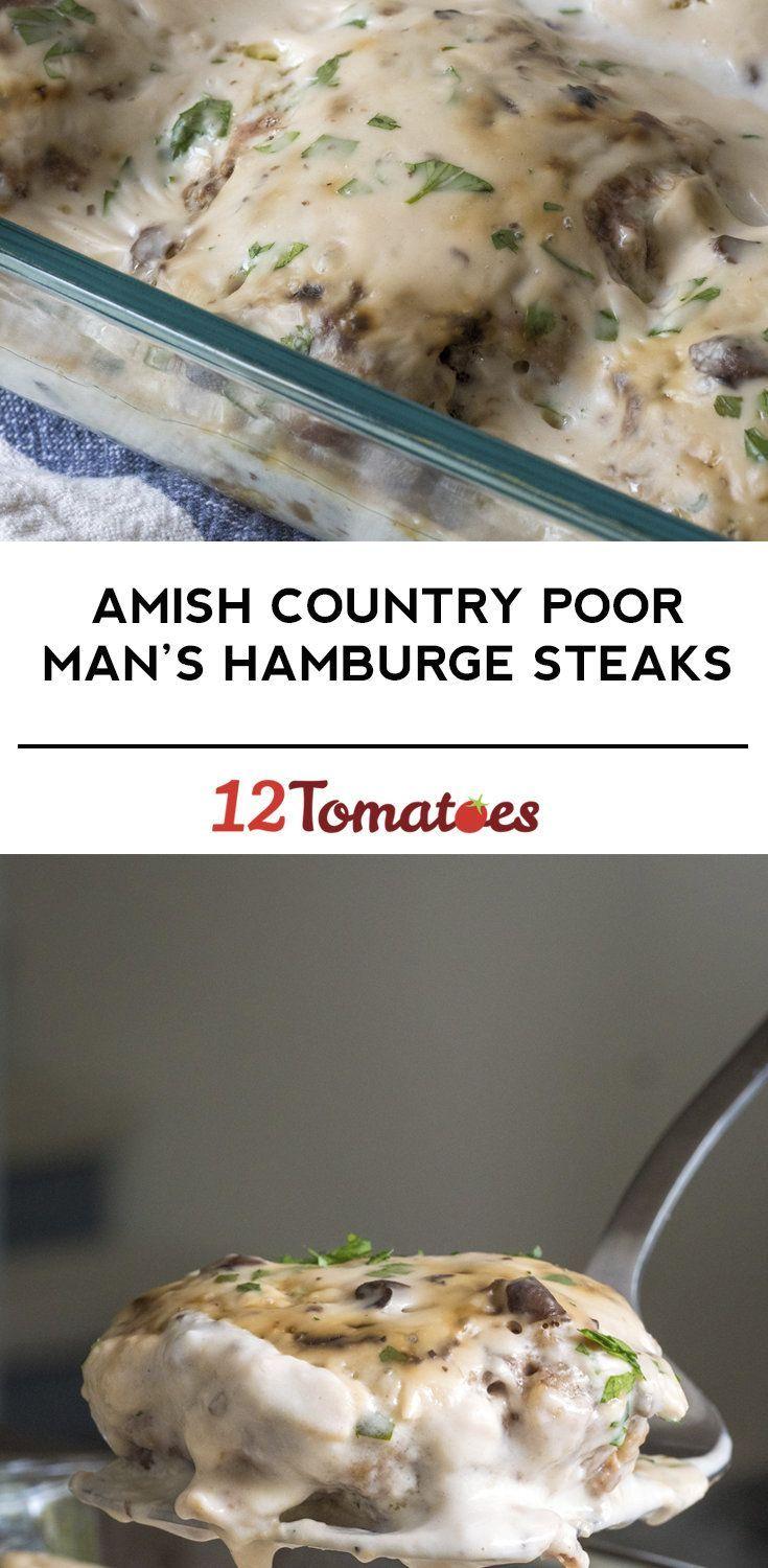 Amish Country Poor Man's Hamburger Steaks