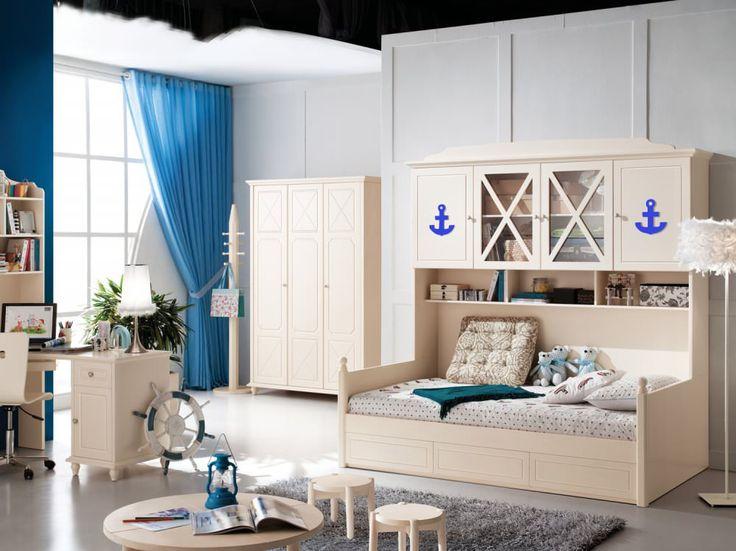 Детские комнаты в морском стиле: особенности, фото-5