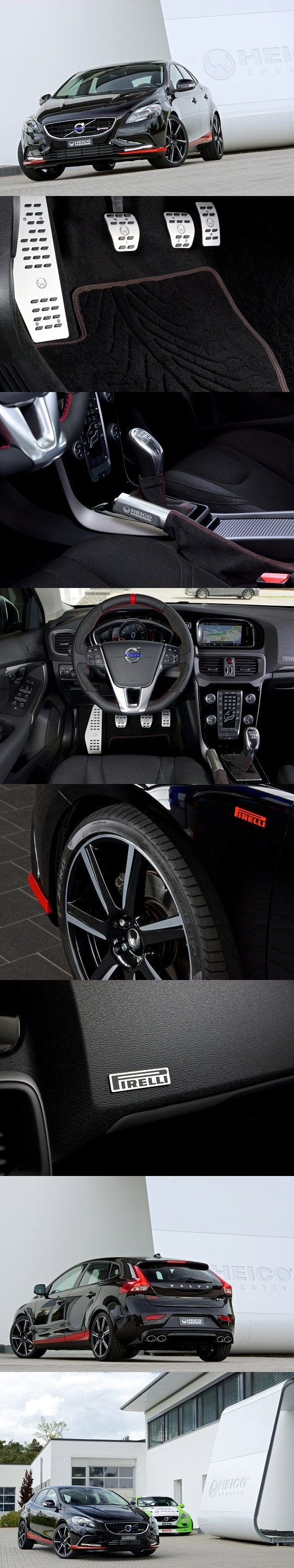 Volvo V40 Pirelli Edition by Heico Sportiv arrangements