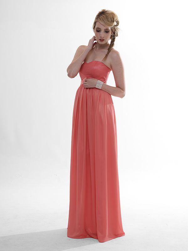 Metallic Taliah $339 #eveningwear #ballgowns #bridesmaids #wedding #bridal #gown